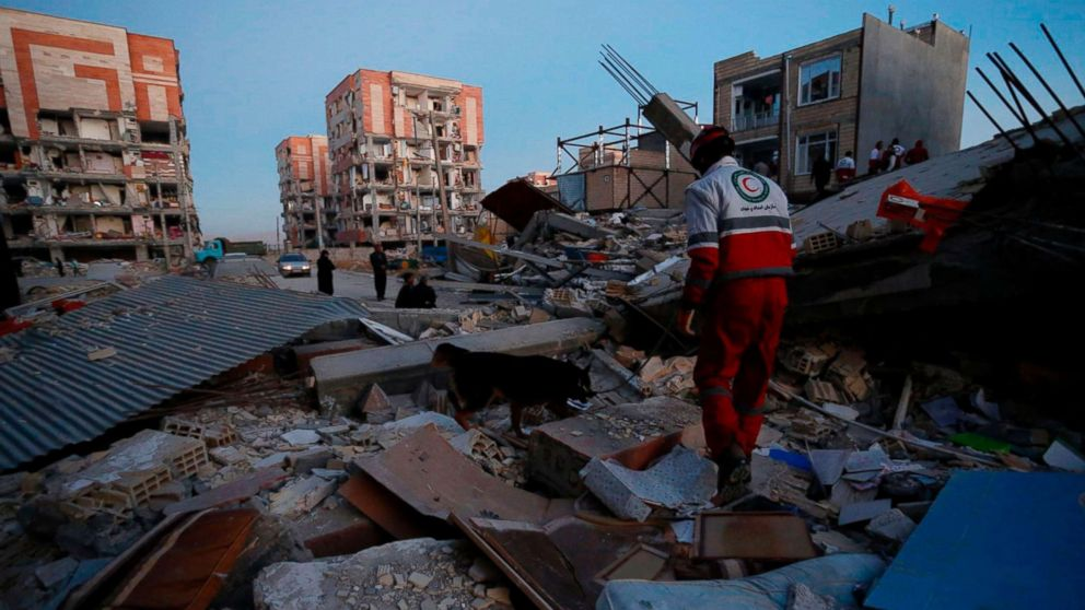 Iran's death toll climbs to 530 after earthquake near Iran-Iraq border