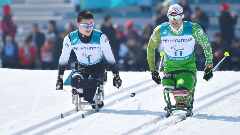 2 North Korean athletes -- and 1 defector -- among competitors in Paralympics in South  Korea
