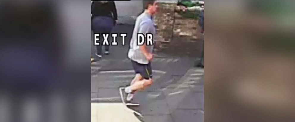 PHOTO: Detectives have released an additional image of a jogger who was seen in a CCTV video appearing to push a woman into ongoing traffic in London on May 5, 2017.