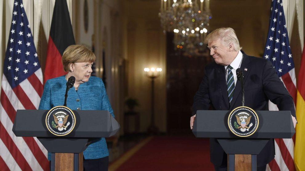 On the heels of bromance visit, meeting between Trump, Merkel expected to be 'very sober'