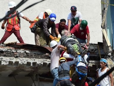 More than 200 dead after magnitude 7.1 earthquake strikes Mexico