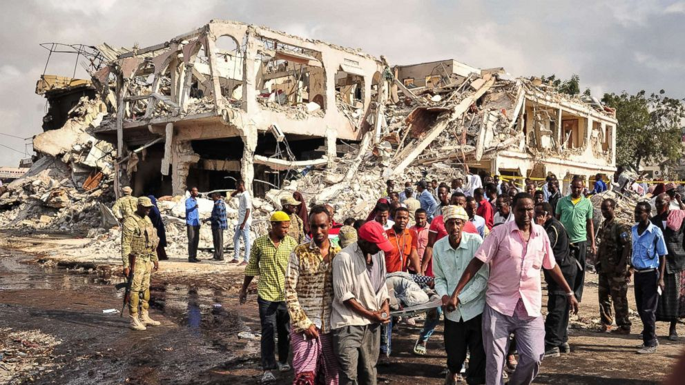 Death toll in 'barbaric' bombing in Somalia  rises to 300