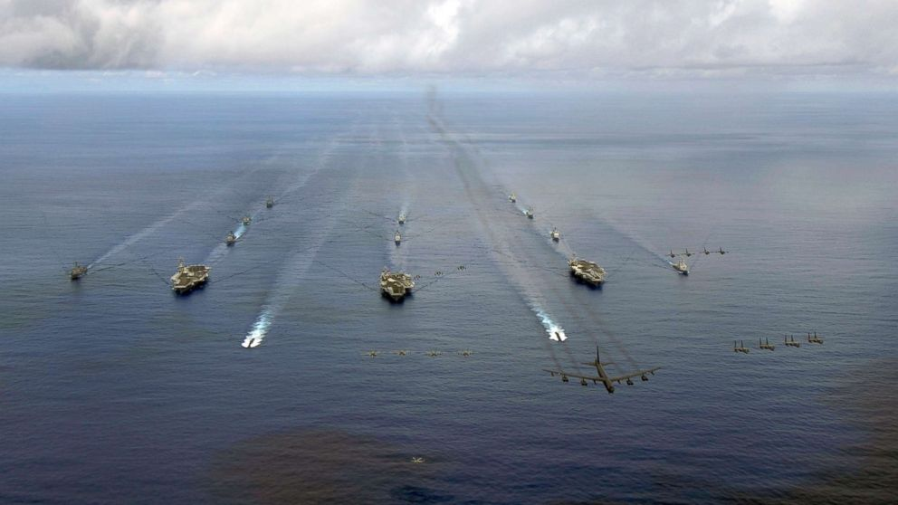 Navy will carry out rare 3-carrier exercise in Sea of Japan