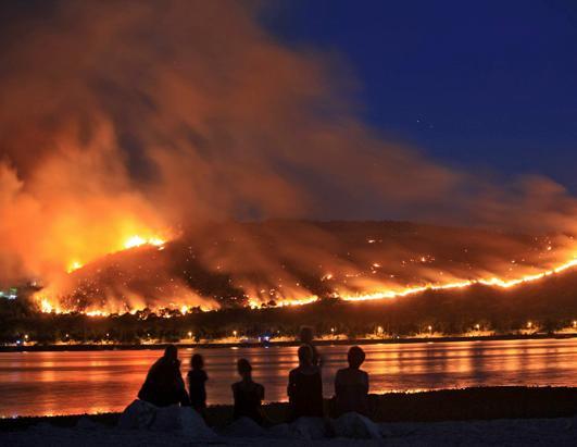 Uništili sela – dobili požare