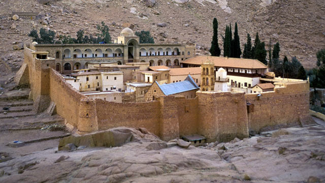 PHOTO: The Monastery of St. Catherine in the Sinai Peninsula, Egypt is shown in this file photo.