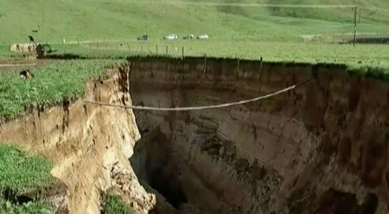 Incredible sinkholes around the world Photos - ABC News