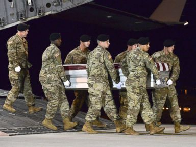 'We don't leave anyone behind': Search for soldier never stopped after Niger ambush