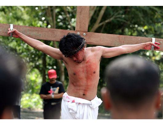Crucifixian Re-enactments