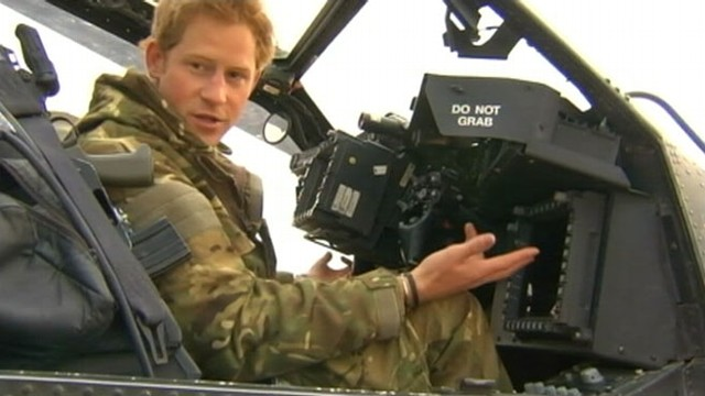 VIDEO: 28-year-old Prince Harry will join the charity circuit before returning to military duty.