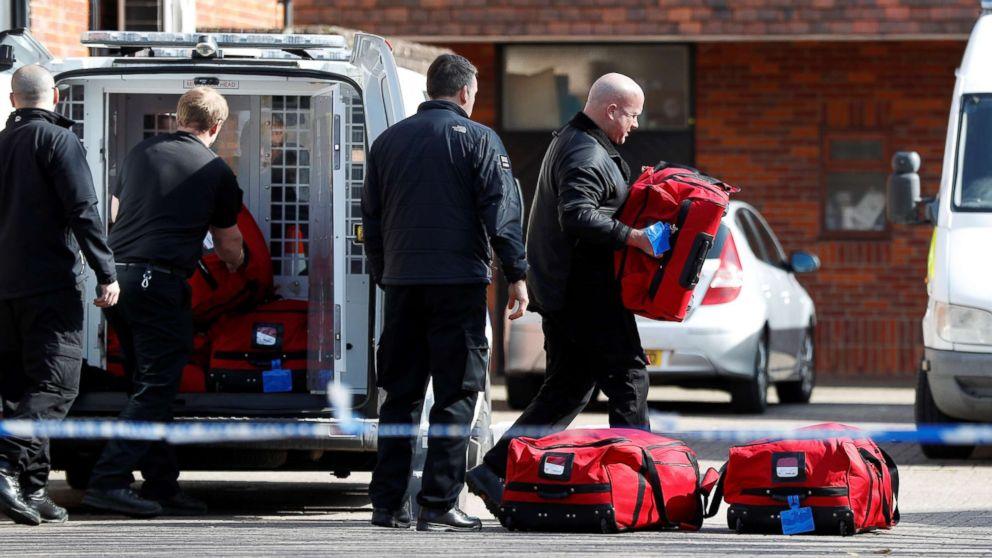 Officer hospitalized in UK spy poisoning case released from hospital