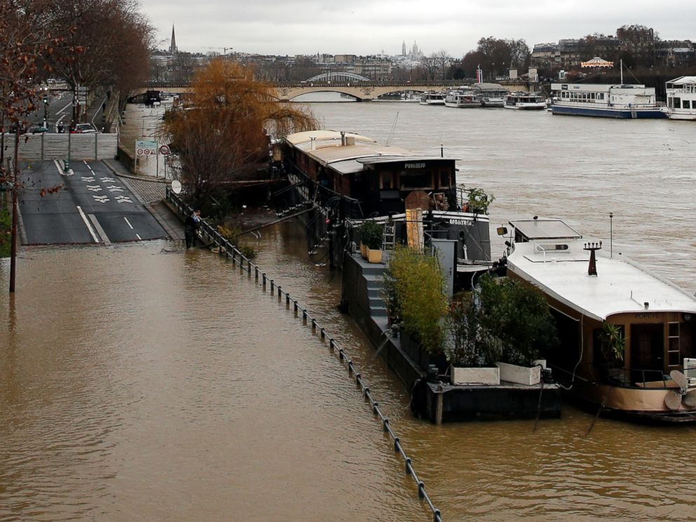 A whole lot evacuated round Paris amid flood alerts…