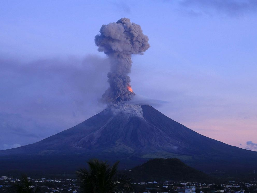 Erupting volcano in Philippines forces evacuation of ...