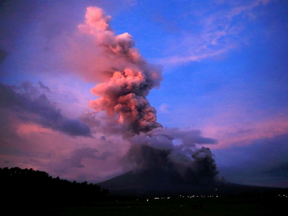 analysing a volcanoes eruption All this information is then used to elaborate eruption scenarios and hazard maps   analyze the main aspects that need to be considered in any volcanic hazard.