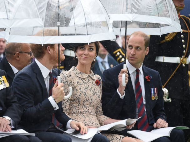 Photos:  Royal Turnout for the 100th Anniversary of WWI's Bloodiest Battle