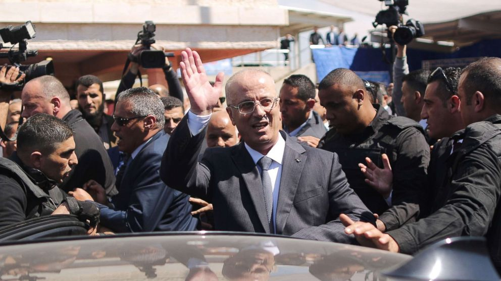 Palestinian prime minister survives bomb blast