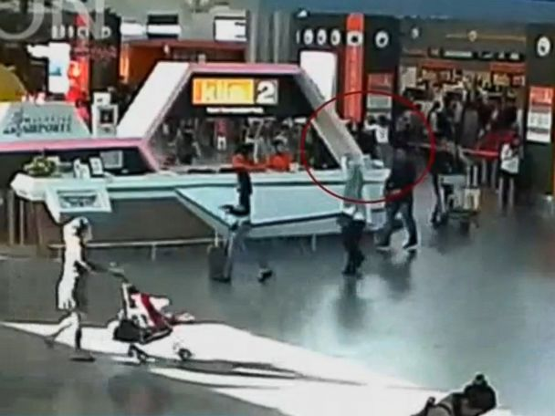 Assassination of Kim Jong Nam appears to be visible on CCTV footage