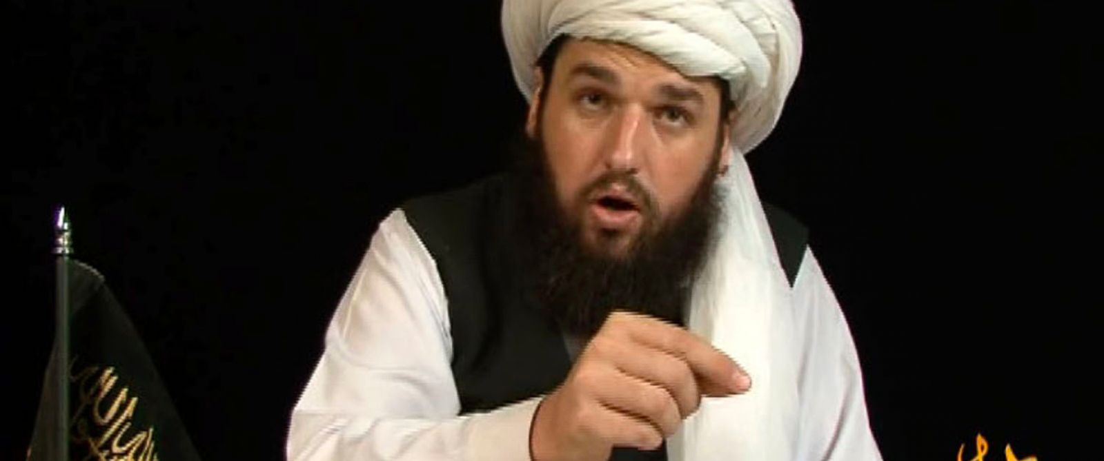 PHOTO: American al-Qaeda militant Adam Gadahn speaks in this video grab from an Internet video posted in October 4, 2008.