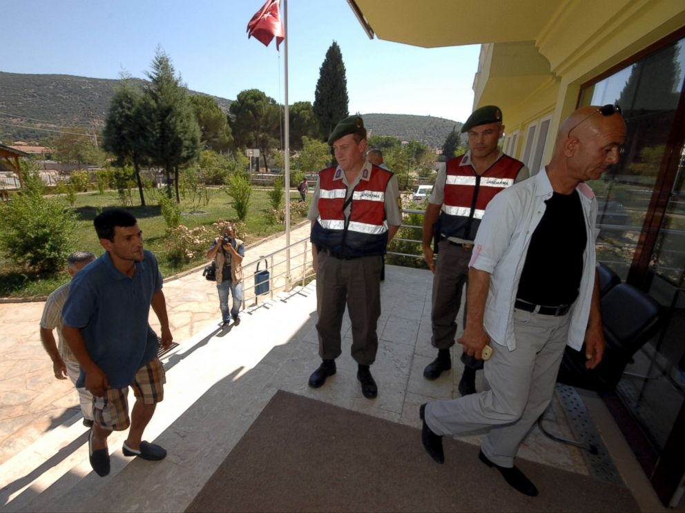 PHOTO: Abdullah Kurdi, father of three-year old Aylan Kurdi, arrives at a morgue, Sept. 3, 2015,in Mugla, Turkey.