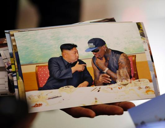 Dennis Rodman Goes to North Korea, Again