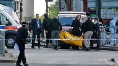 PHOTO: London crime scene