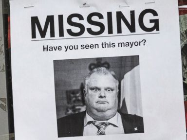 Have You Seen Mayor Rob Ford?