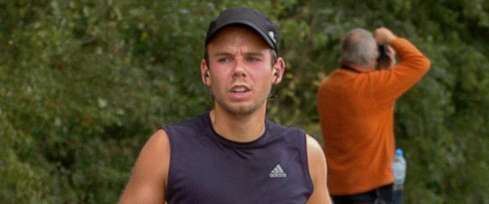 PHOTO: Germanwings co-pilot Andreas Lubitz runs the Airportrace half marathon in Hamburg, Germany in a Sept. 13, 2009 file photo.