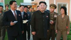 PHOTO: North Korean leader Kim Jong-un appears at the newly built Wisong Scientists Residential District in this undated photo released by North Koreas Korean Central News Agency in Pyongyang Oct. 14, 2014.