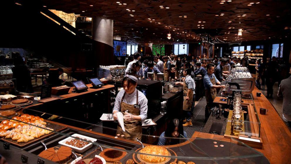 World's largest Starbucks opening in Shanghai