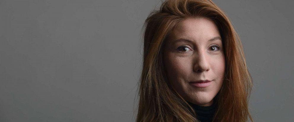 PHOTO:A 2015 file photo of the Swedish journalist Kim Wall.