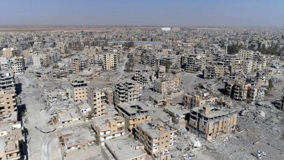 After Raqqa's liberation, 'a tough fight still lies ahead' against ISIS