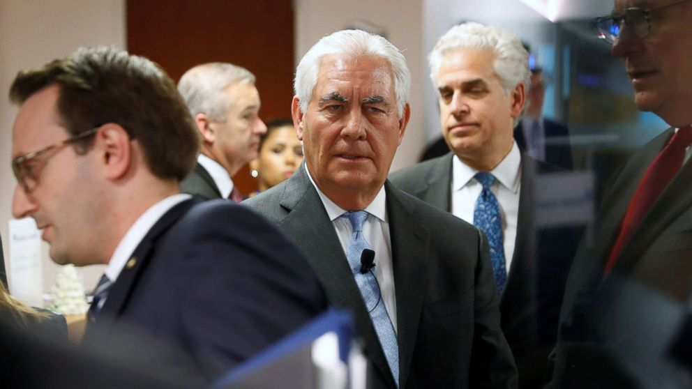 Tillerson to North  Korea : 'We're ready' to meet 'without precondition'