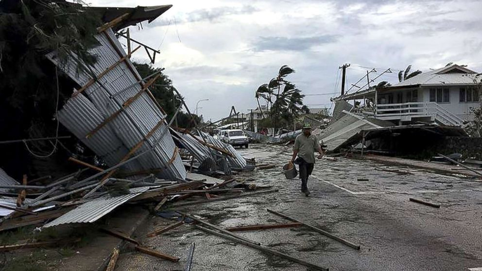 South Pacific island nation of Tonga battered by Category 4 tropical cyclone
