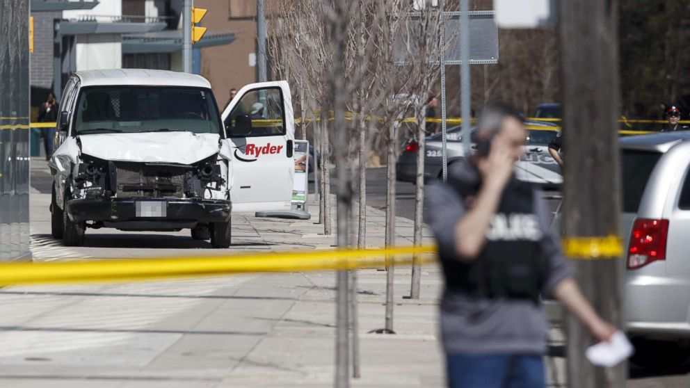 Suspect in deadly Toronto van attack once cited 2014 Isla Vista mass shooting on Facebook