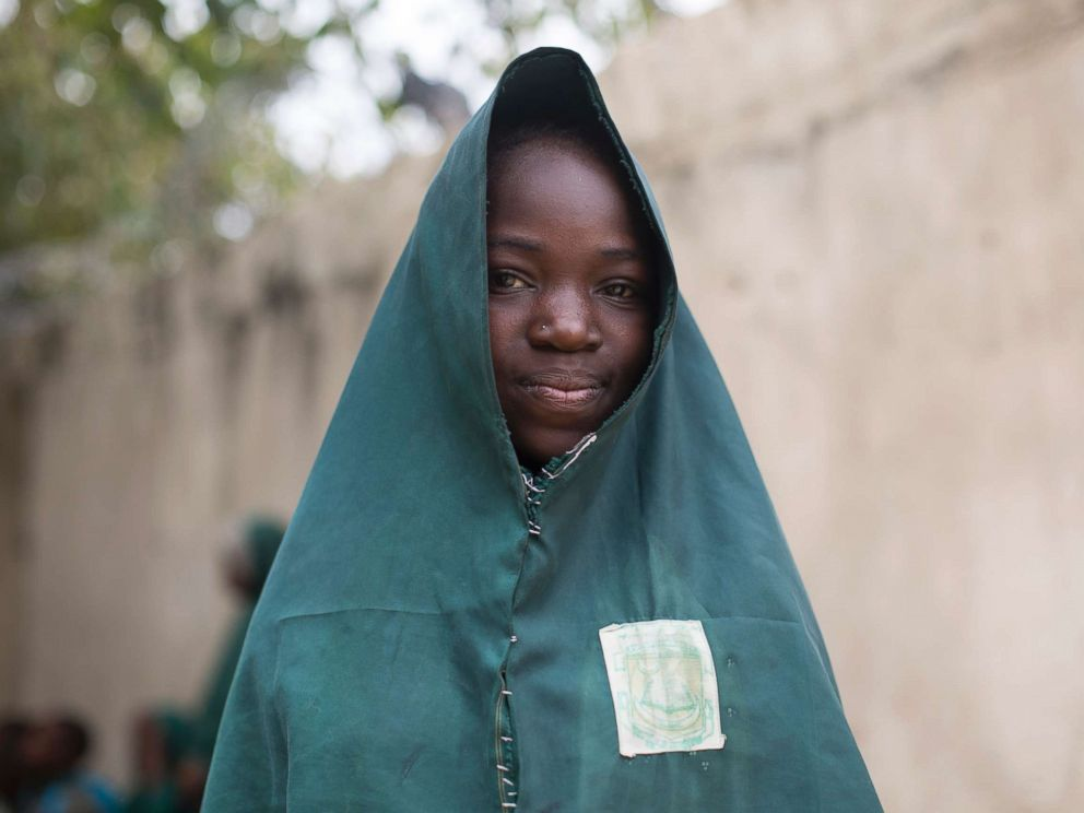 PHOTO: Hauwa Madu, 13, recalls the death of her father three years ago at the hands of Boko Haram, one of the world?s most feared terrorist groups, at the Future Prowess Islamic Foundation School in Maiduguri, Borno State, Nigeria, May 17, 2017.