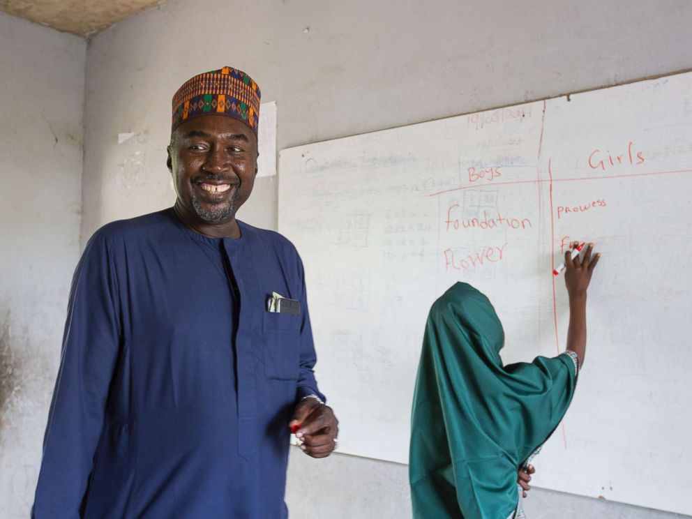 PHOTO: Zannah Mustapha in a class at the Future Prowess Islamic Foundation School in Maiduguri, Borno State, Nigeria, May 17, 2017.