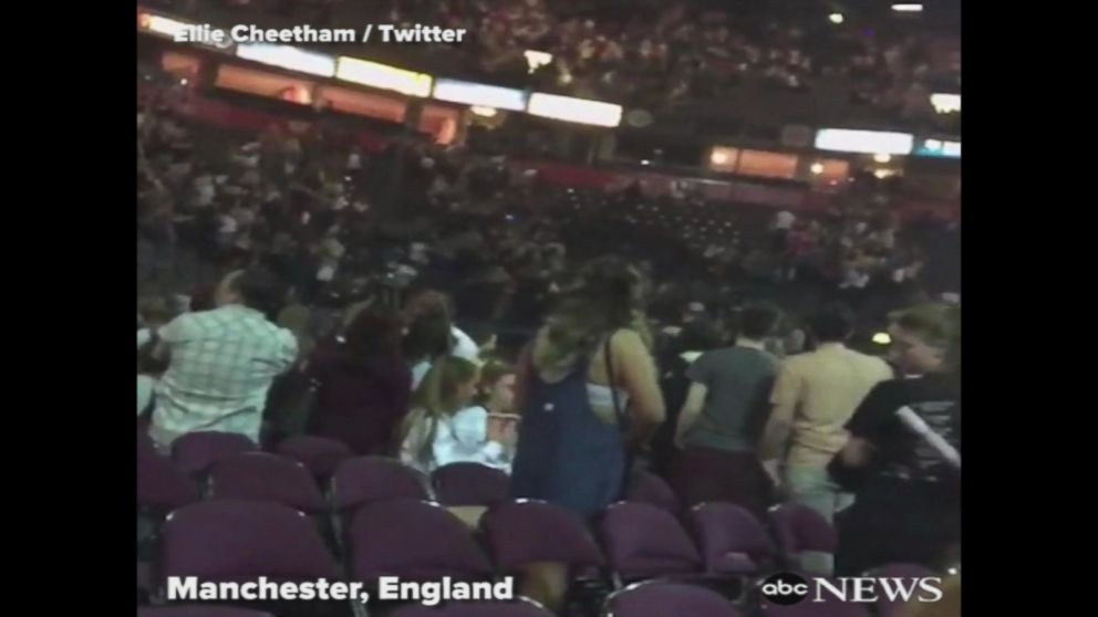 VIDEO: Video appears to show moment of blast at Manchester Arena