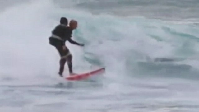 Video: Paralyzed Mom Rides Waves Thanks to Duct Tape
