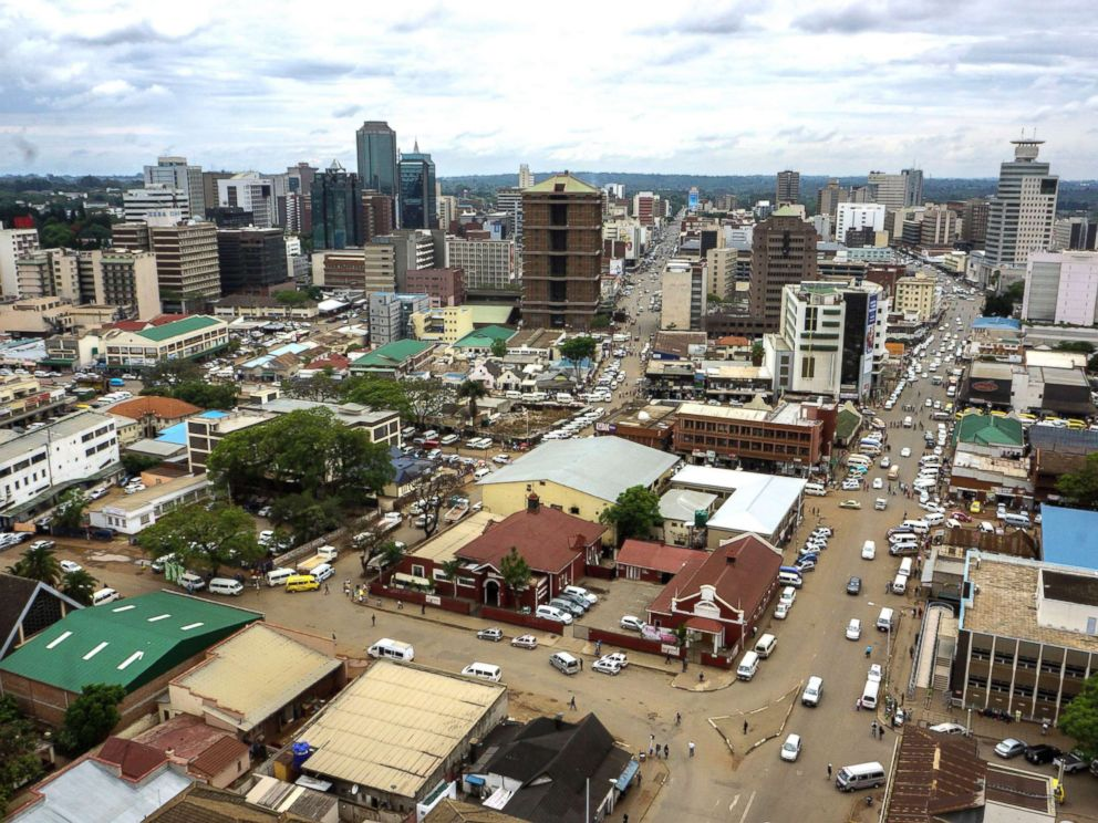 photo a photo shows a view of the zimbabwean capital harare nov 16
