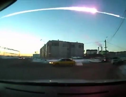 Meteorite Crashes in Russia