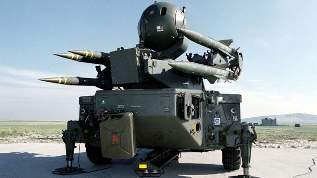 PHOTO: A Rapier missile system, part of the Ground Based Air Defence is shown in this file photo.