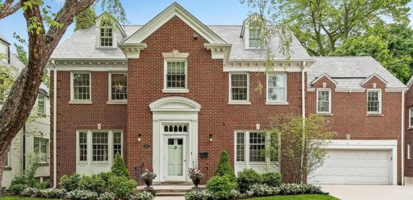 The Evanston, Illinois, home is on the market for $1.49 million.