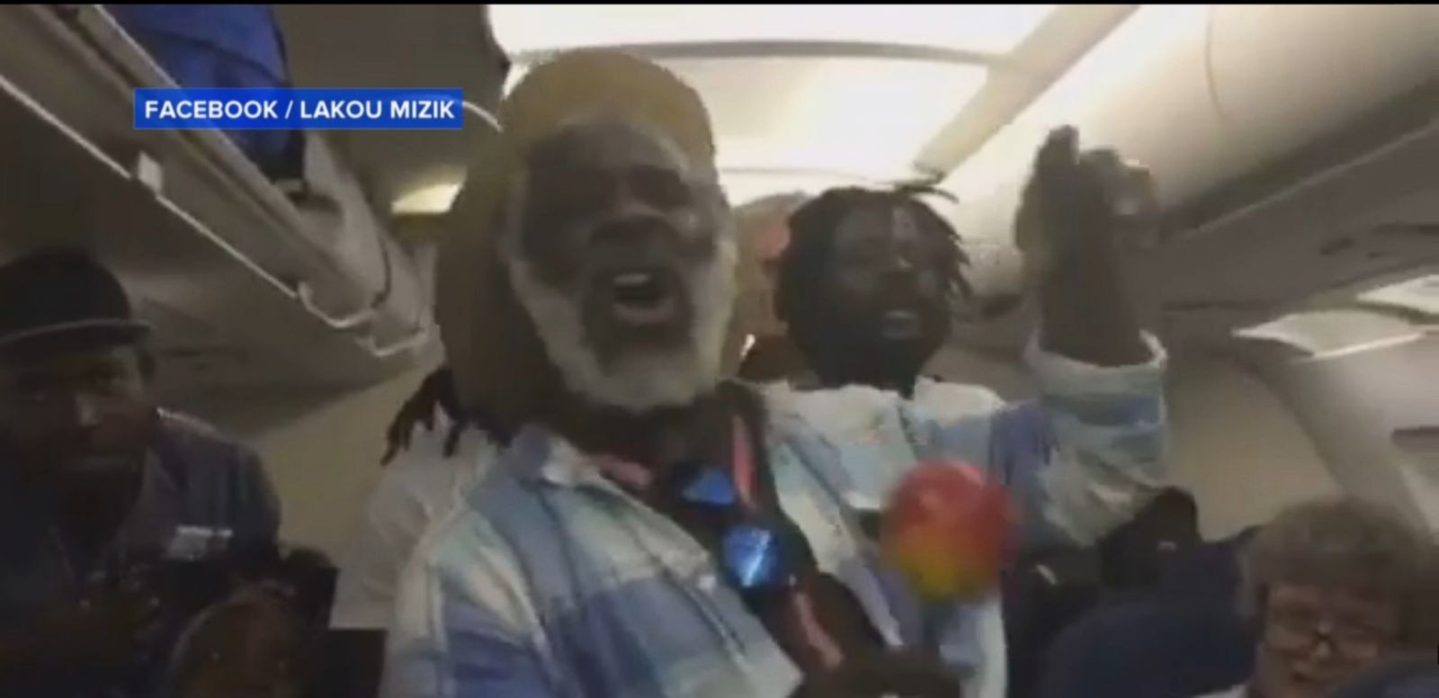Band members of Lakou Mizik were among the passengers whose flight was delayed at Chicago's O'Hare airport. The Haitian band treated their fellow fliers with a now viral impromptu performance.
