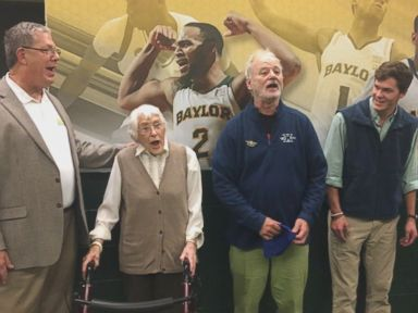PHOTO: 94-Year-Old Gets Surprise Birthday Serenade From Bill Murray