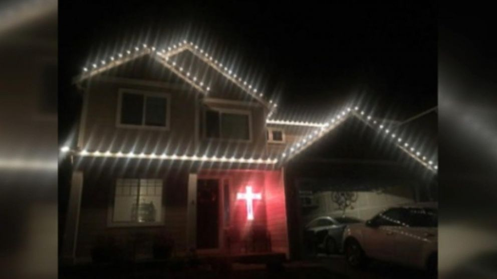 Firefighters Hang Christmas Lights For Man Who Fell Nearly 6-Feet ...