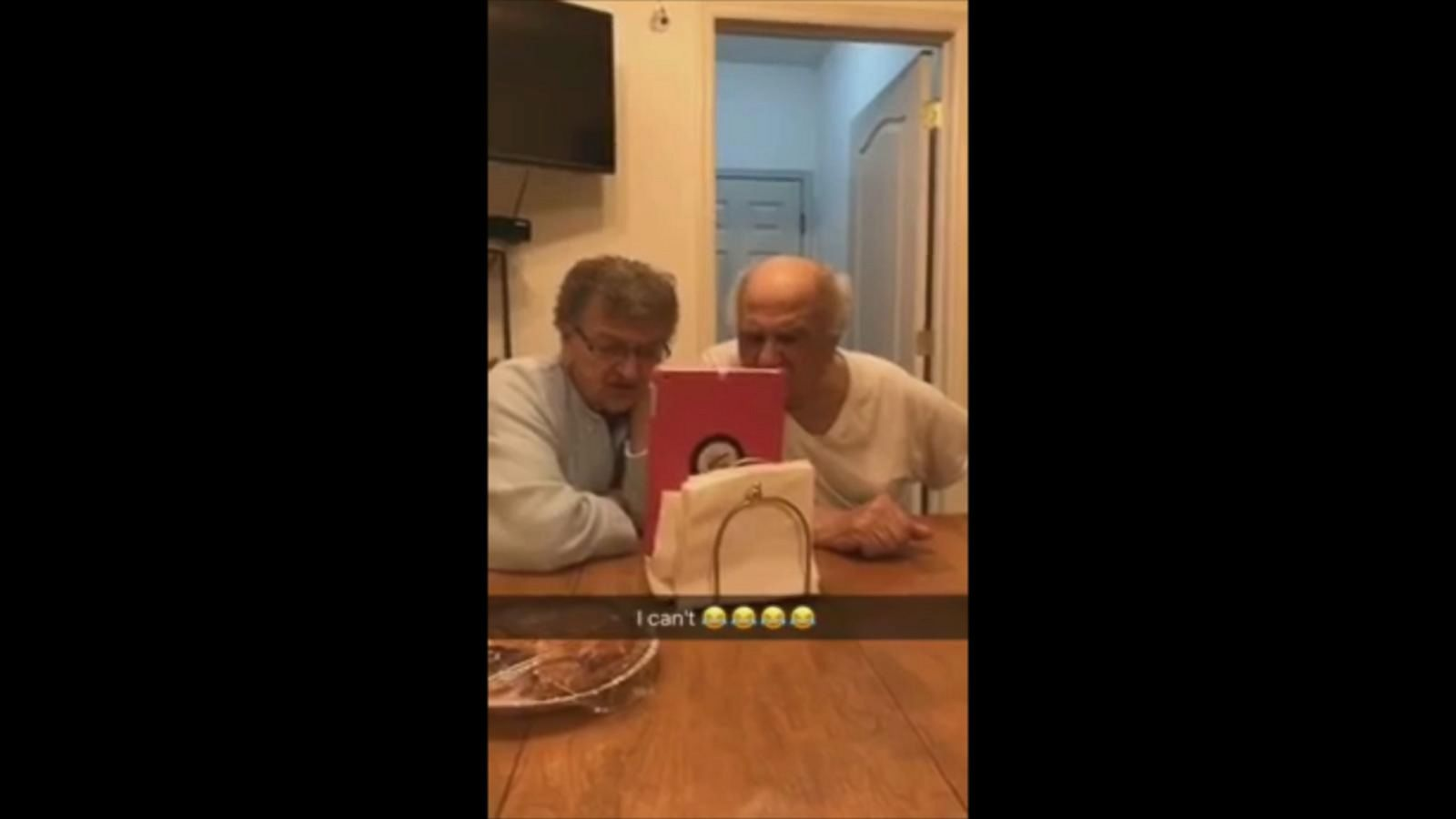 VIDEO: Italian Grandparents Hilariously Freak Out When Granddaughter Walks Home Alone