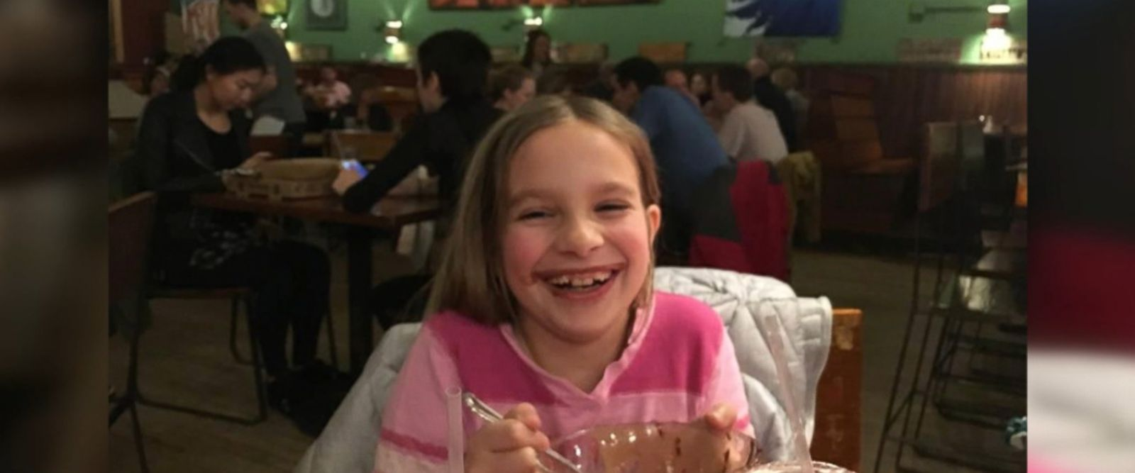 Ciara Brill, 9, was diagnosed with an aggressive brain tumor on Dec. 29, 2016.