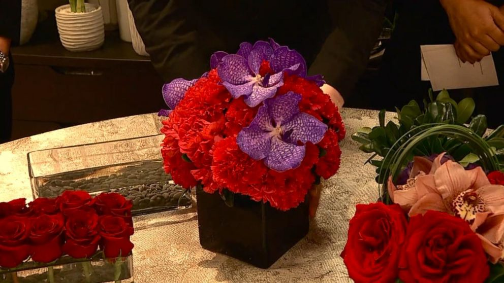 finding the perfect flowers for valentines day video abc news