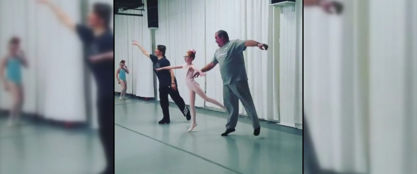 "VIDEO: The Philadelphia Dance Center held a ""daddy-daughter Valentines ballet class"" with results that will leave you smiling."