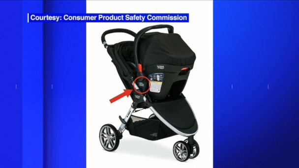 The voluntary recall affects some B-Agile and BOB Motion strollers.