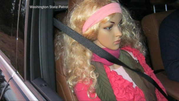 A Washington State Patrol trooper who spotted a motorist violating the rules of the road is no dummy.